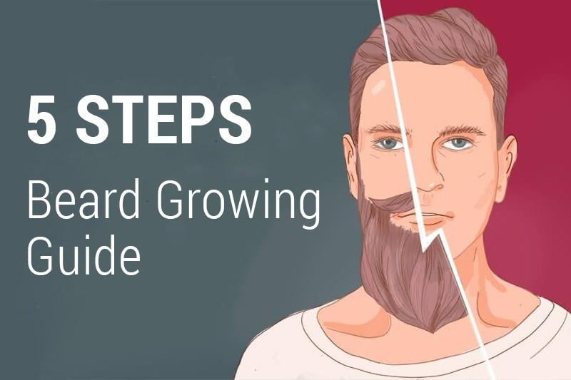 A guide for growing a long beard