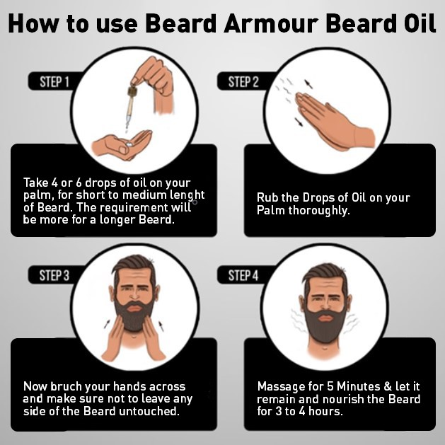 A guide for moisturizing your beard with a beard oil